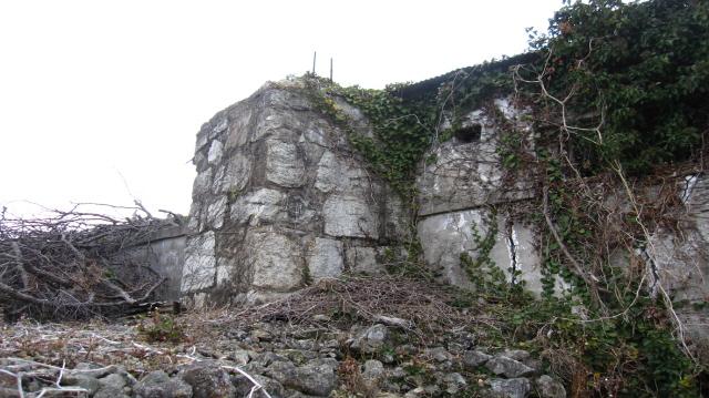 [크기변환]6.한산도 포로수용소, 경상남도 기념물 제302호로 지정-추봉도 건물기둥.JPG